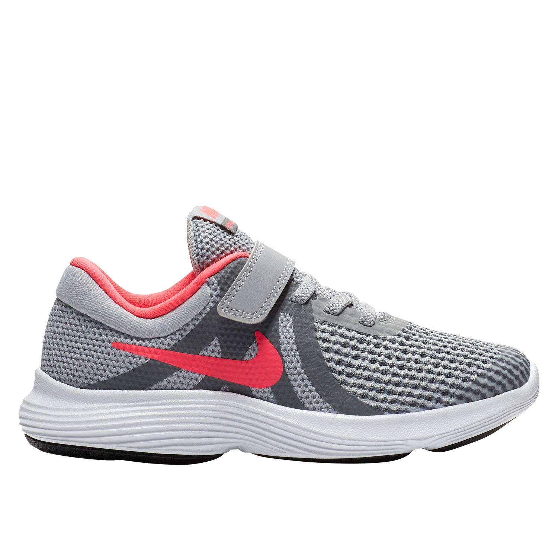 2c20fbd6e32e Nike Revolution 4 PS Girl s Running Shoe in Grey - Intersport Australia