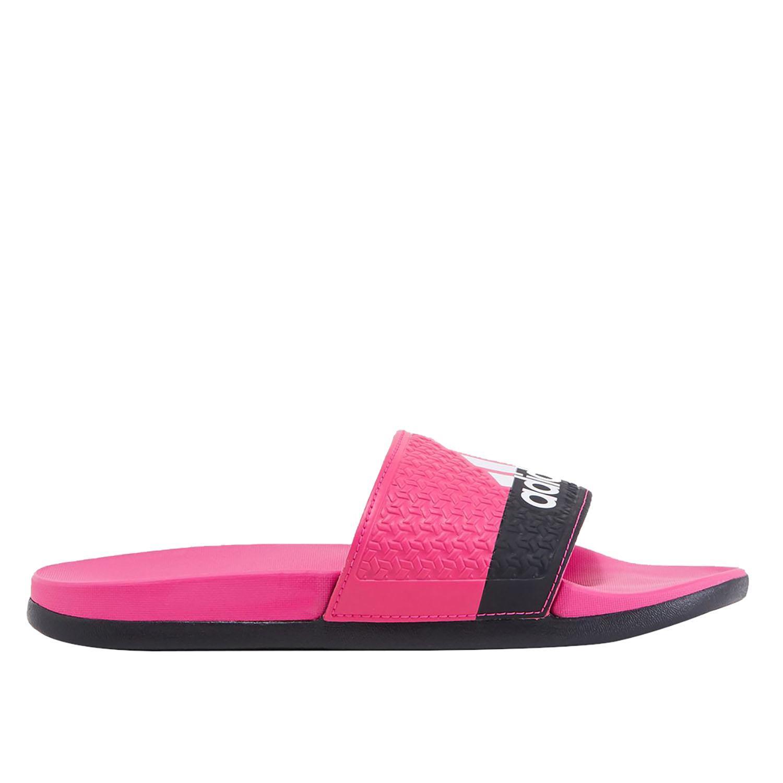 b833765564a6 adidas Adilette Cloudfoam Plus Girl s Slide in Pink - Intersport ...