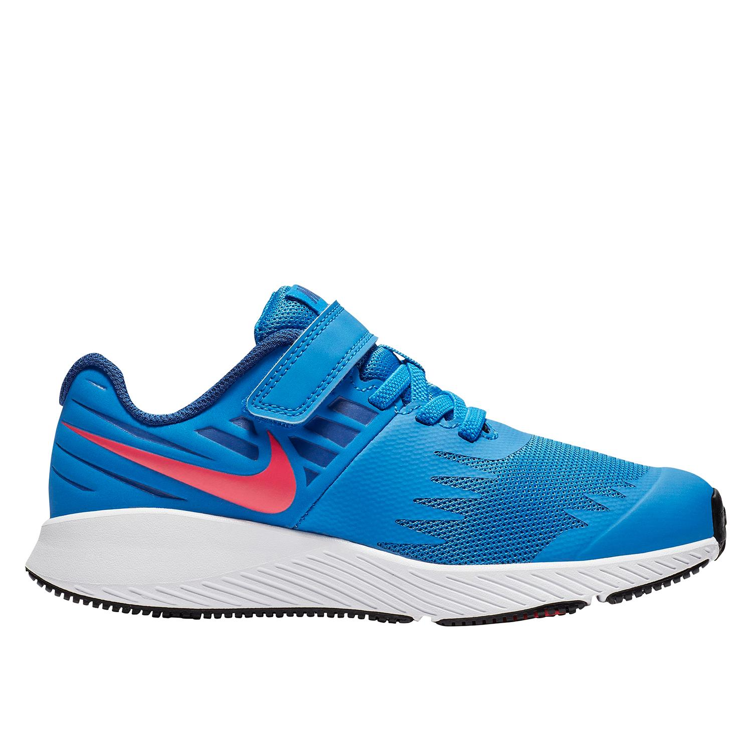 79570febfef Nike Star Runner PS Kid s Running Shoe in Blue - Intersport Australia