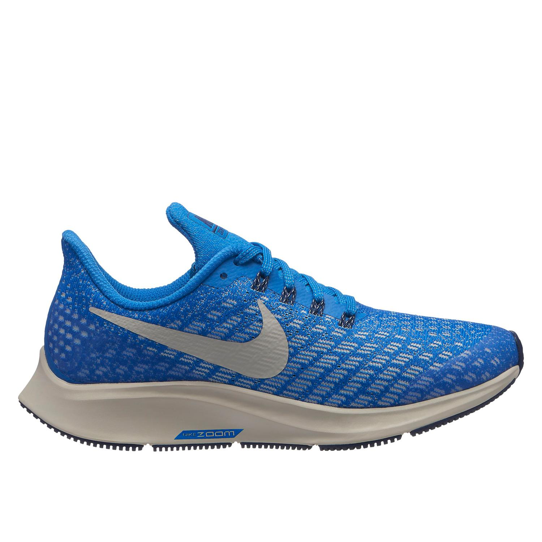 83a33262bca Nike Air Zoom Pegasus 35 Boy s Running Shoe in Blue - Intersport Australia
