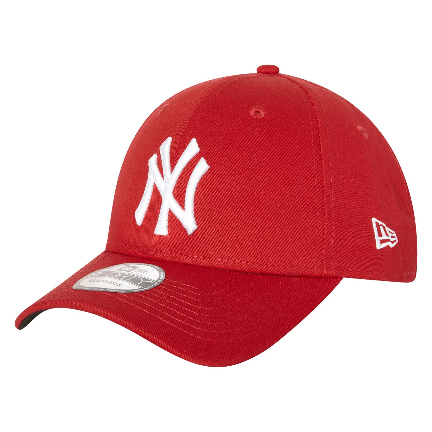 free shipping eb07a 1fc50 ... loading zoom e1ba5 dc80b  clearance new era 9forty new york yankees cap  in red intersport australia a719b c2233