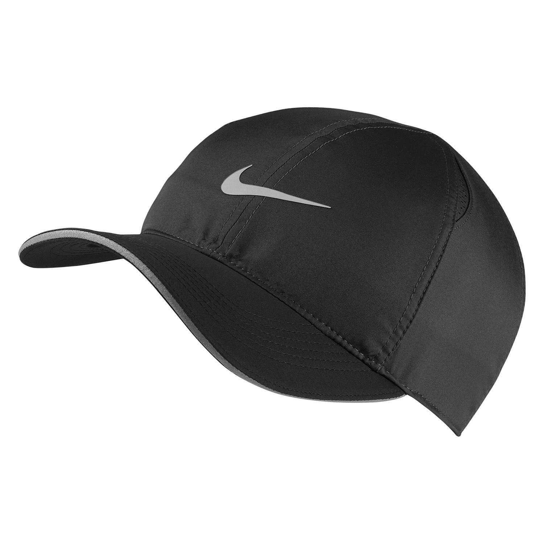 36a30636 Nike Featherlight Running Cap in Black - Intersport Australia