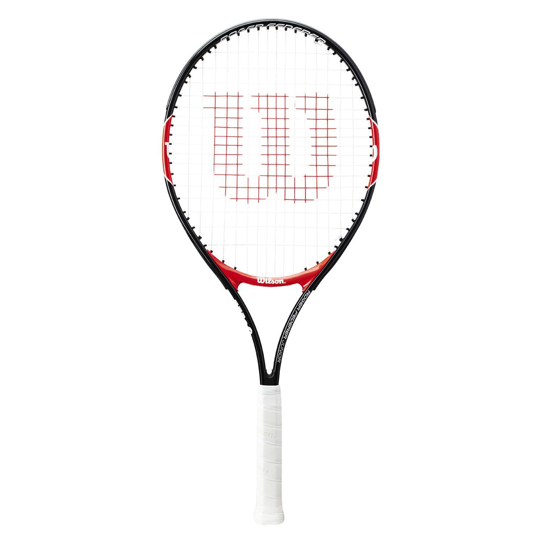 Wilson Roger Federer Junior Tennis Racquet In Black Intersport Australia